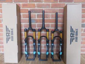 "Air Bike Fork XC32A HLO 27.5"" Black 120mm Tapered Steerer"