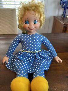 "Vintage 2000 Mrs. Beasley Talking Pull String Doll 22"" Family Affair Works HTF"