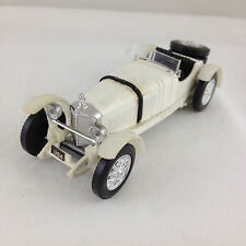 SOLIDO, FRANCE, 1931 WHITE SSKL MERCEDES DIECAST MODEL CAR, No. 4001