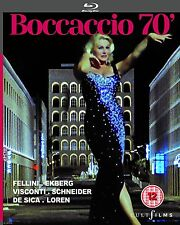 BOCCACCIO 70 Fellini Visconti De Sica Monicelli Loren BLURAY Nuovo .cp