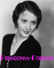 BARBARA STANWYCK 8x10 Lab Photo B&W 1920s Early SOFT FOCUS Movie Star Portrait