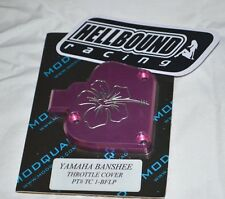 CLEARANCE Yamaha Banshee 350 Billet PINK thumb throttle cover YFZ350 flowers