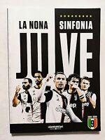 JUVE LA NONA SINFONIA 2019-2020 SCUDETTO JUVENTUS CR7 LA GAZZETTA DELLO SPORT