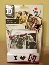 New 1D One Direction Stereo Speaker For MP3 Players iPod