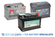 PREMIUM 12v Car Battery  - YBX3102 Positive Terminal Left Side