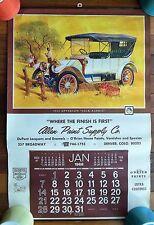 Vintage 1968 APPERSON JACK RABBIT Calendar Allen Paint DuPont o'Brien Denver