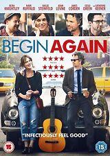 Begin Again Keira Knightley, Mark Ruffalo, Adam Levine NEW AND SEALED UK R2 DVD