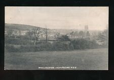 Somerset WIVELISCOMBE from railway Used 1910 PPC local pub Vickerys Series