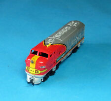 TYCO ~ 1977 ~ HO Scale Locomotive Train ~ Santa Fe  #4015~ Hong Kong  With  Box