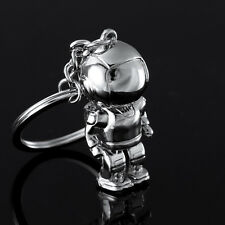New Cartoon 3D Creative Spaceman Robot Astronaut Car Key Chain Ring Keyfob Gift