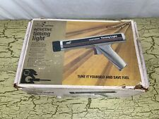 Vintage Sears Craftsman Inductive Timing Light Model 2134 Manual Amp Box