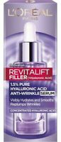 L'Oreal Paris REVITALIFT Filler 1.5% PURE HYALURONIC ACID Serum 30ml