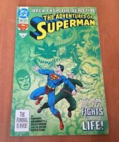 DC The Adventures Of SUPERMAN (DC Comics 1993) Back From The Dead #500