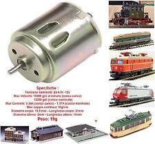 MICRO MOTORE 4,5-10Vcc Asse mm.2 mm.19x21 RIPARAZIONE-MOTORIZZAZIONE LOCOMOTORI