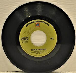 """LAWRENCE REYNOLDS """"Jesus Is A Soul Man / I Know A Good Girl"""" 1969 45 RPM"""