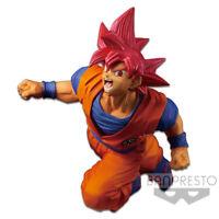 Banpresto Dragon Ball Z Super FES Vol.9 Figure Super Saiyan God Goku Red BP35807