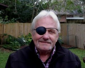 LAMBSKIN Black Leather, Replaceable Elastic, Hand Made ---WORLD'S BEST EYE PATCH
