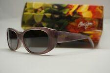 NEW Maui Jim polarized Sunglasses GS258-13 Mauve Lilikoi Oval Womens MSRP 299$