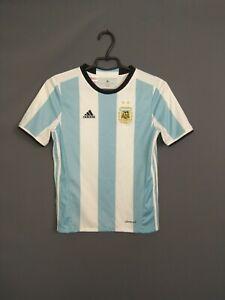 Argentina Jersey 2015 2017 Home Kids Boys 11-12 Shirt Adidas AK0049 ig93