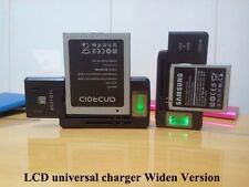 Universal Charging Cradle with LCD Display USB Charging Port for Mobile Phones