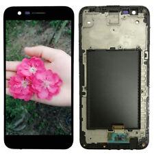LG K10 2017 M250 X400 MP260 M257 M255 LCD Display Touch Screen Digitizer + Fram