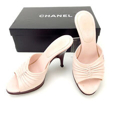 CHANEL Mule Ladies Authentic Used Y1843
