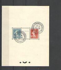 A241 - ISRAELE  - 1927 -  BLOCCO FOGLIETTO - USATO