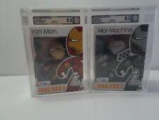 Mighty Muggs AFA 8.5 Marvel lot Iron Man 2 Mark VI War Machine TRU Exclusive