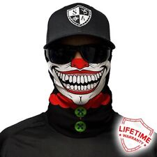 MOTORCYCLE FACE MASK - THE CLOWN - (Moto, Hunting, Fishing, Paintball)