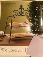 Veranda Super Serving Set Retired Home Interiors & Gifts