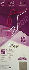 TICKET Olympia Fussball 26.7.2012 Men's Honduras - Marokko Y31