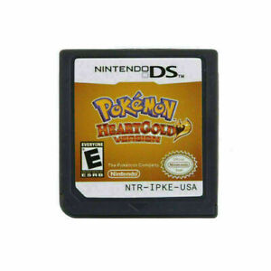 New Game Cartridge Nintendo 3DS NDSI NDS Lite Card Pokemon HeartGold Version US