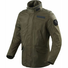 DA SCONTARE - REV'IT GIACCA FIELD VERDE SCURO JACKET REVIT MOTO GREEN WINTER