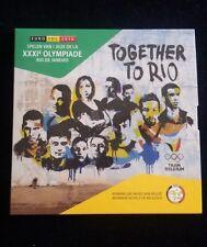 "Belgium coins ""Olympic Games in Rio de Janeiro 2016"" BU set in blister/folder"