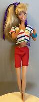 Vintage 1966 BARBIE Mattel Doll BLOND LONG STRAIGHT HAIR
