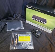 D-Link Ebr-2310 4-Port 10/100 Wired Router New-Old Stock