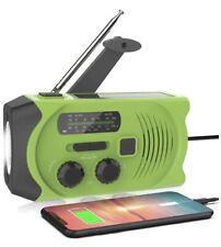 Latest Emergency Solar Hand Crank Portable Radio, NOAA Solar Hand Crank