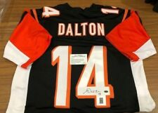 ANDY DALTON AUTOGRAPHED JERSEY (LEAF CERTIFIED #128572)