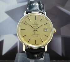 Vintage 1977 Men's Omega Quartz Seamaster De Ville Wristwatch 1 Year Warranty