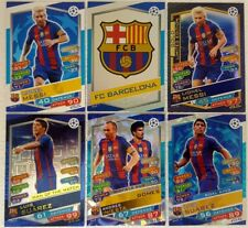 MATCH ATTAX 2016 / 17 UEFA CHAMPIONS Trading Card BASE SET + 85 FOIL = 400 CARDS