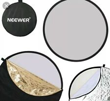 * Neewer 43in/110cm 5 en 1 Plegable Reflector de Luz de disco múltiples con Bolsa 28/12