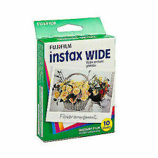 Fujifilm Instax Wide Instant Film, 10 Sheets - 1 Pack