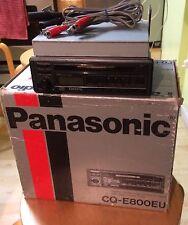 Old School Vintage Panasonic CQ-E800EU Car CD Player w/ Digital Control Tuner