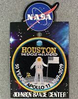 NASA APOLLO 11 50 YEARS PATCH Official Authentic SPACE 4""
