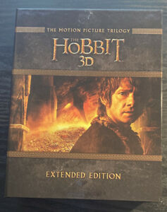 The Hobbit: The Motion Picture Trilogy [Extended Edition] (Blu-ray 3D + Blu-ray)