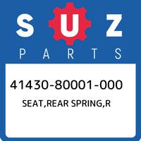 41430-80001-000 Suzuki Seat,rear spring,r 4143080001000, New Genuine OEM Part