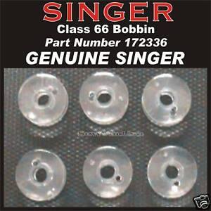 16 Singer Class 66 Bobbins # 172336