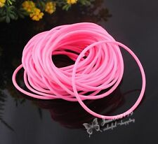 20pcs U pick Lots Mix color Rubber Sport Wristband Cuff Hoop Bracelet E757
