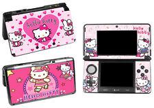 Hello kitty 3DS Vinyl Sticker Skins Game Console Children Toys Decals Nintendo