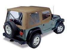 97-02 Jeep Wrangler TJ Dark Tan Upper Door Skins
